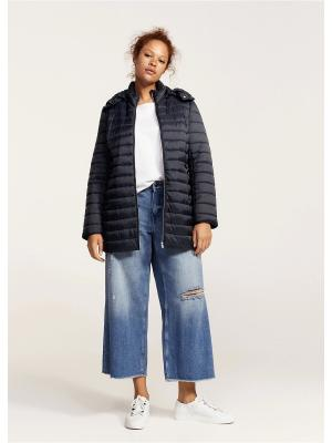 Куртка - SELLER1 Violeta by Mango. Цвет: темно-синий