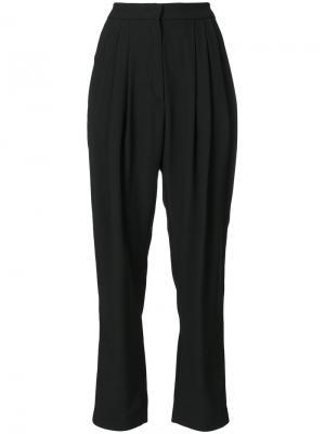 Строгие брюки с завышенной талией Philosophy Di Lorenzo Serafini. Цвет: чёрный