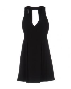Короткое платье CHILI PEPPERS. Цвет: черный