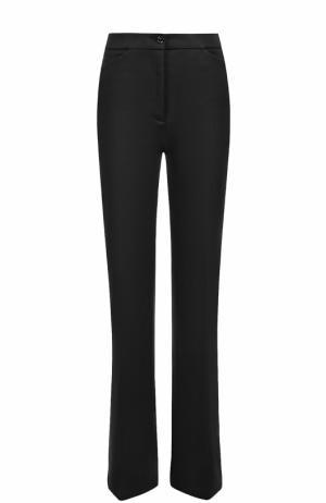 Расклешенные брюки со стрелками и карманами M Missoni. Цвет: черный