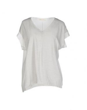 Блузка MONICA •LENDINEZ. Цвет: светло-серый