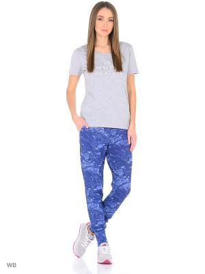 Спортивные брюки FORLIFE. Цвет: синий