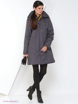 Пальто IRMA Maritta. Цвет: сливовый