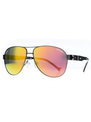 Солнцезащитные очки Dakota Smith. Цвет: серый