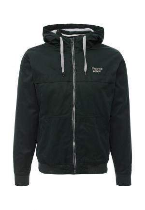 Куртка утепленная Springfield. Цвет: зеленый