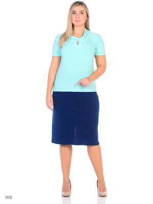 Блузка, модель Лейла Dorothy's Нome. Цвет: светло-голубой