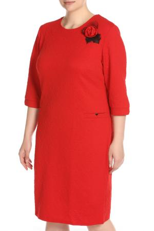Платье Ионна BlagoF. Цвет: красный