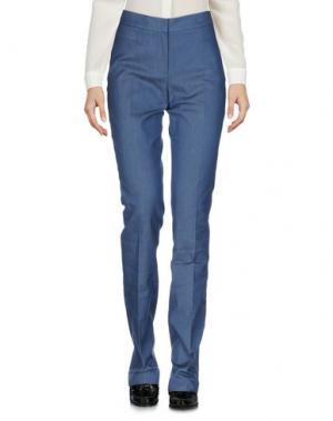 Повседневные брюки AKRIS PUNTO. Цвет: пастельно-синий