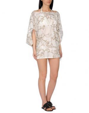 Пляжное платье ALVIERO MARTINI 1a CLASSE BEACHSTYLE. Цвет: слоновая кость