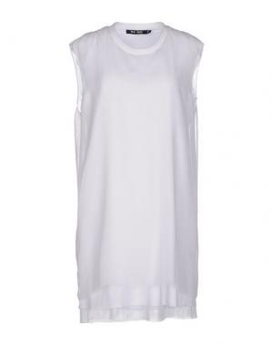 Короткое платье BLK DNM. Цвет: белый