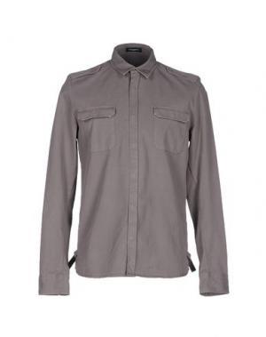 Pубашка COSTUME NATIONAL HOMME. Цвет: серый
