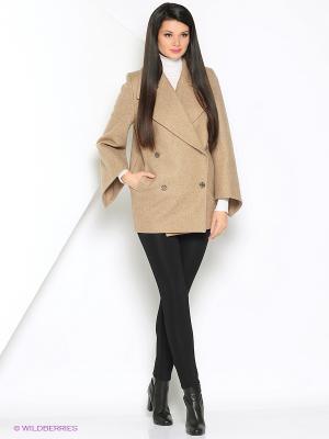 Пальто Anora. Цвет: бежевый