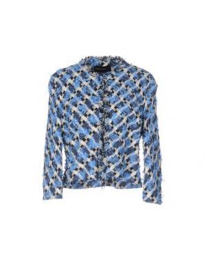 Пиджак FABRIZIO LENZI. Цвет: небесно-голубой