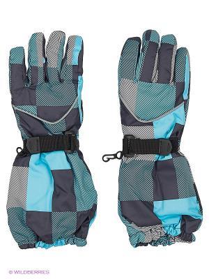 Перчатки Maxval. Цвет: голубой