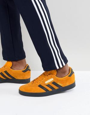 Adidas Originals Желтые кроссовки Gazelle CQ2795. Цвет: желтый