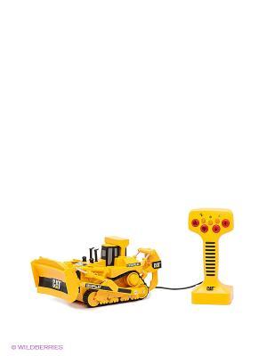Строительный трактор TOYSTATE. Цвет: желтый, черный