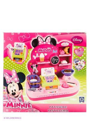 Мини - магазин Minnie, 36,5*22*42 см, 1/4 Smoby. Цвет: розовый