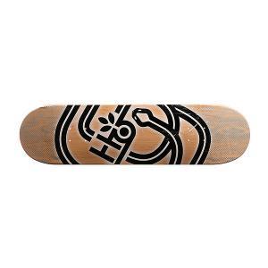 Дека для скейтборда  Serpent Pp Beige/Black/Grey 31.75 x 8.25 (21 см) Habitat. Цвет: бежевый,черный