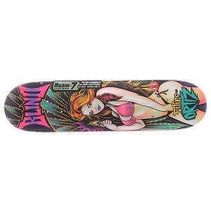 Дека для скейтборда  S5 Filipe Ultra Violet R7 Multicolor 31.7 x 8.0 (20.3 см) Blind. Цвет: мультиколор