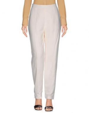 Повседневные брюки WANDA NYLON. Цвет: слоновая кость