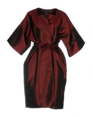 Легкое пальто IRIS VAN HERPEN. Цвет: красно-коричневый