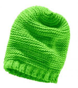 Вязаная шапка в стиле «Beenie» для детей Otto. Цвет: зеленый