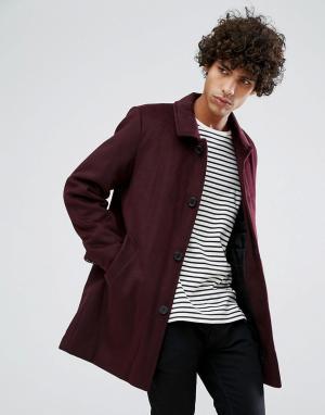Clean Cut Copenhagen Kуртка Харрингтон со стеганой подкладкой. Цвет: красный