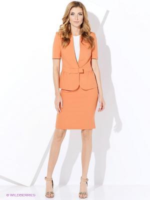 Жакет Виреле. Цвет: оранжевый