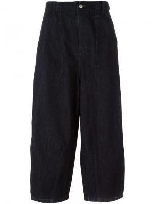 Широкие джинсы Shinjuku Société Anonyme. Цвет: синий