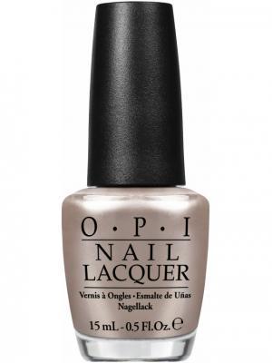 Opi Лак для ногтей Take a Right on Bourbon, 15 мл. Цвет: светло-коричневый