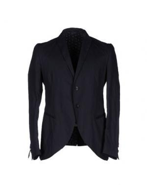 Пиджак DANIELE ALESSANDRINI. Цвет: темно-синий