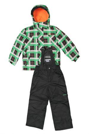 Комплект X-TREM. Цвет: черно-зеленый
