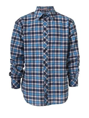 Рубашка Sabotage. Цвет: синий