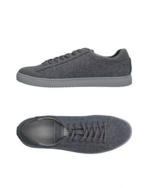 Низкие кеды и кроссовки CLAE. Цвет: серый