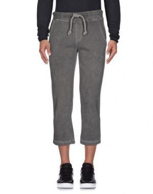 Повседневные брюки JOE RIVETTO. Цвет: свинцово-серый