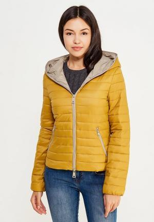 Куртка утепленная Motivi. Цвет: желтый