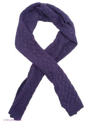 Шарф adL. Цвет: фиолетовый