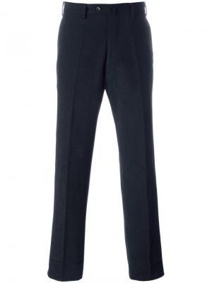 Зауженные брюки Loro Piana. Цвет: синий