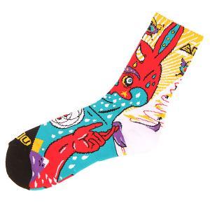 Носки средние  Moon Sock Multi GNU. Цвет: мультиколор