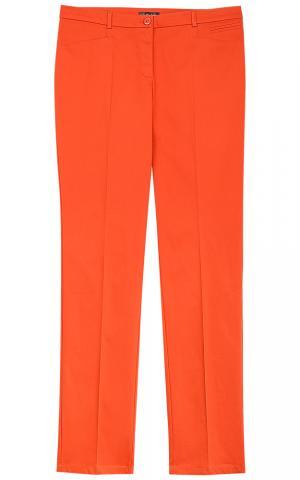 Оранжевые брюки Le monique