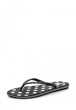 Сланцы DC Shoes. Цвет: черный