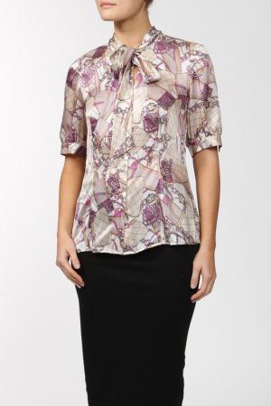 Блуза Luisa Spagnoli. Цвет: мультицвет