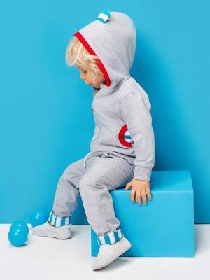 Комплект одежды для малыша NinoMio. Цвет: серый, серый меланж
