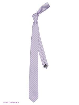Галстук KARFLORENS. Цвет: серый, фиолетовый