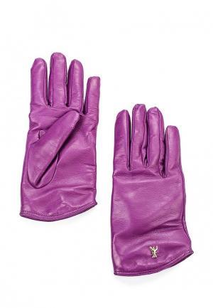 Перчатки Patrizia Pepe. Цвет: фиолетовый