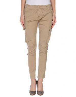 Повседневные брюки ANIYE BY. Цвет: бежевый