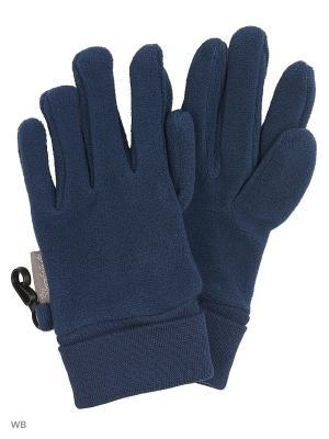 Перчатки Sterntaler. Цвет: темно-синий