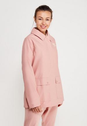 Куртка Reebok Classics. Цвет: розовый