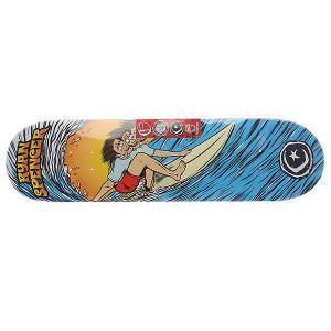 Дека для скейтборда  Su5 Spencer Triple Overhead 32.25 x 8.0 (20.3 см) Foundation. Цвет: мультиколор