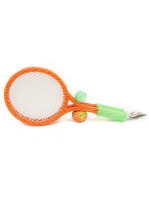 Набор для пляжного тенниса VELD-CO. Цвет: оранжевый